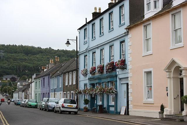 The pretty town of Kirkcudbright opens many doors that would usually be closed to the public during its annual Arts and Crafts trail in August.