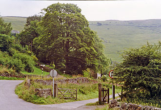 Ecton, Staffordshire - Site of the station in 1993