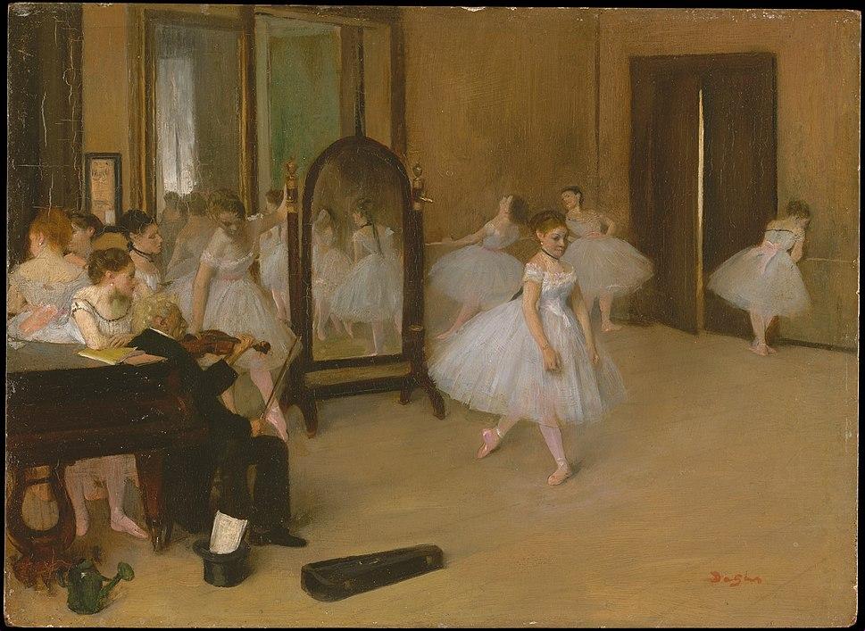 Edgar Degas - Chasse de danse