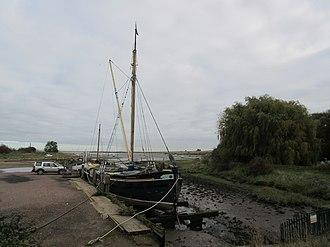 Edith May - Image: Edith May sailing Barge at Lower Halstow 01