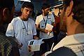 Editing Wikipedia Awareness Programme - Wikimedia Stall - Croud - 38th International Kolkata Book Fair - Milan Mela Complex - Kolkata 2014-02-04 8360.JPG