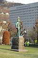 Edvard Grieg Statue Bergen Norway 2009 2.JPG