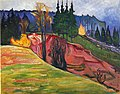 Edvard Munch - From Thuringewald.jpg