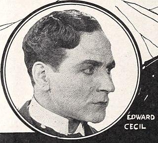 Edward Cecil (actor) American actor