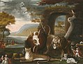 Edward Hicks - The Peaceable Kingdom and Penn's Treaty - 1965.46.3 - Yale University Art Gallery.jpg