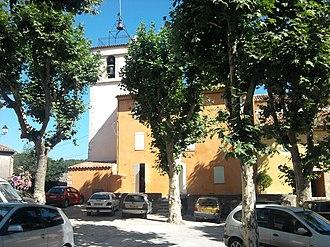 Bras, Var - The church in Bras