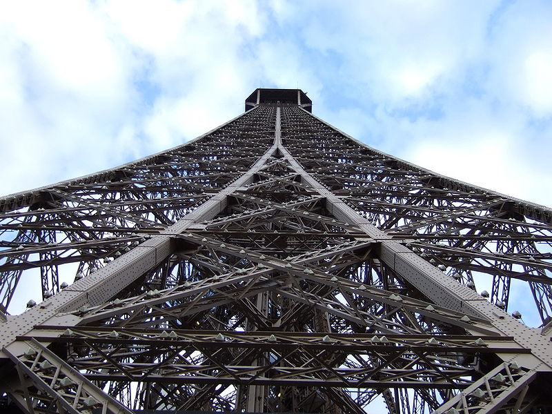Torre Eiffel, detalle
