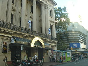 El Día (Uruguay) - Former building of ''El Día'' in downtown Montevideo.