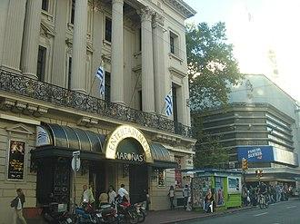 El Día (Uruguay) - Former building of ''El Día'' in downtown Montevideo.
