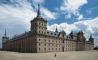 El Escorial - El Escorial. View from the north-west