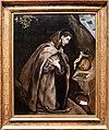 El greco, san francesco inginocchiato in meditazione, 1595-1600 ca. 01.jpg