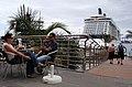 """El megacrucero """" Celebrity Eclipse"""", en el Puerto de la Luz y de Las Palmas.Gran Canaria (4641596809).jpg"""