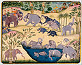 Elephant Hunt of Maharaja Anup Singh of Bikaner - Google Art Project.jpg
