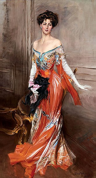 History of fashion design - Image: Elizabeth Drexel