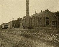 Elmira and Seneca Lake Railway - Exterior of Power House.jpg