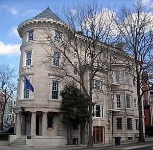 Landon School - The school's original location in Washington, D.C. now serves as the Embassy of Estonia.