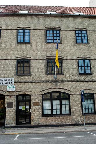 Embassy of Ukraine, Copenhagen - Image: Embassy of Ukraine in Copenhague