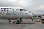 Embraer 190-100LR Lufthansa Regional (CityLine) D-AECC (9299137536).jpg