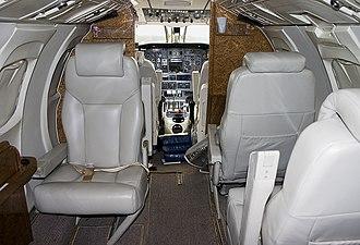 Embraer EMB 121 Xingu - Cabin