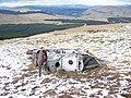 Engine From Fairey Firefly On Meikle Bin and Carron Valley Forest - geograph.org.uk - 1400920.jpg