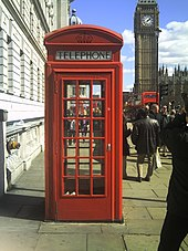 Awesome Red Telephone Box Wikipedia Download Free Architecture Designs Scobabritishbridgeorg