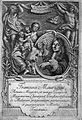 Engraved frontispiece with portrait of F. Mauriceau. Wellcome L0006189.jpg