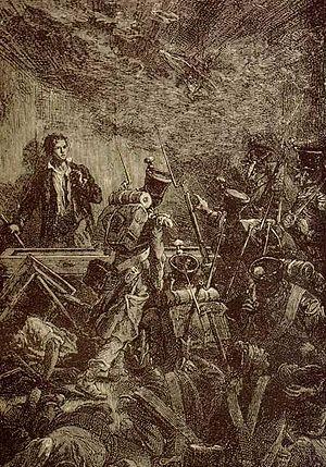 Enjolras - The execution of Enjolras