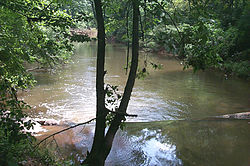 The Eno River at Hillsborough