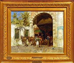 Entrée au bazar du Caire