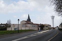 Entrée est du bourg de Saint-Cyr-en-Talmondais (Éduarel, 12 février 2016).JPG