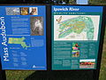 Entrance sign, Ipswich River Wildlife Sanctuary.JPG