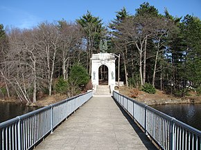Entrance to Island Grove Park, Abington MA.jpg