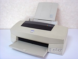 English: EPSON Colorio Inkjet Printer PM-700C ...