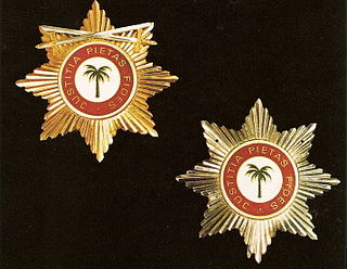 Honorary Order of the Palm order