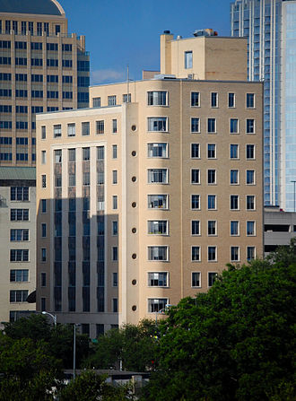 Austin Daily Tribune Building - Ernest O. Thompson State Office Bldg. in 2010