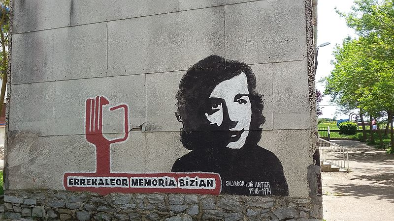 Archivo:Errekaleor. Mural dedicado a Salvador Puig Antich.jpg