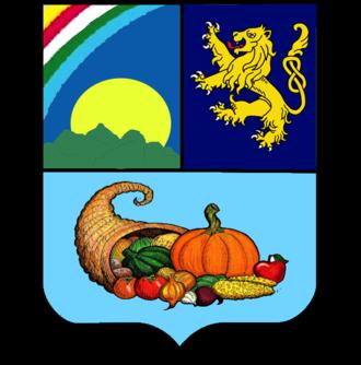 Moca, Dominican Republic - Image: Escudo del Municipio Moca