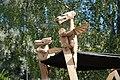Espoo. Viking teltan symböli . Keskiajan markkinat. Valokuva Victor Belousov. - panoramio.jpg