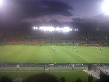 Estadio Atanasio Girardot en la Copa Mundial de la FIFA sub 20