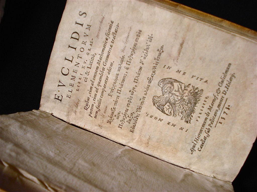 Euclid's Elements 1573 Edition