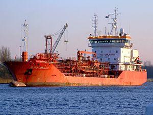 Euro Corallo IMO 9164093, Port of Amsterdam, 13Dec2008.JPG