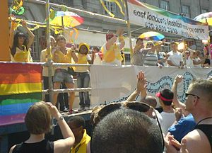 Europride - Float of East London's Lesbian and Gay Centre, London 2006