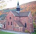 Eusserthal Klosterkirche von Südost2.JPG