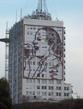 Cultural depictions of Eva Perón - Image of Eva Perón at the Ministry of Work.