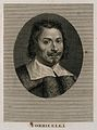 Evangelista Torricelli. Line engraving by Tomba after himsel Wellcome V0005863.jpg