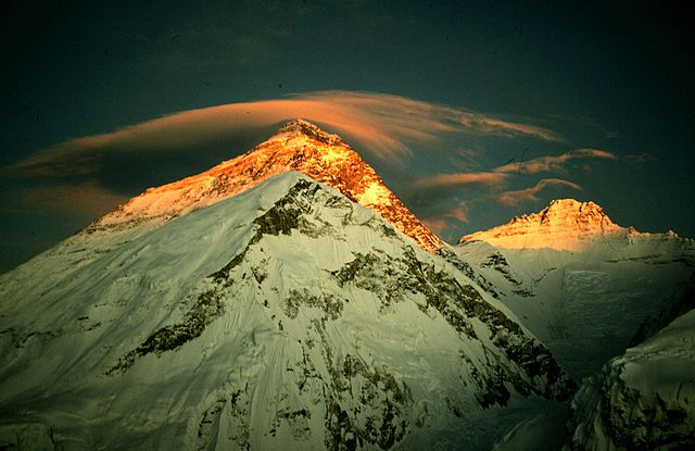 Mount Everest (8848 m.n.m.)