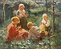 Evert Pieters Spielende Kinder im Grünen.jpg