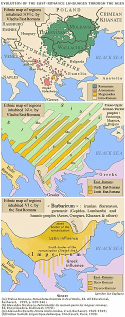 Three maps of southeastern Europe