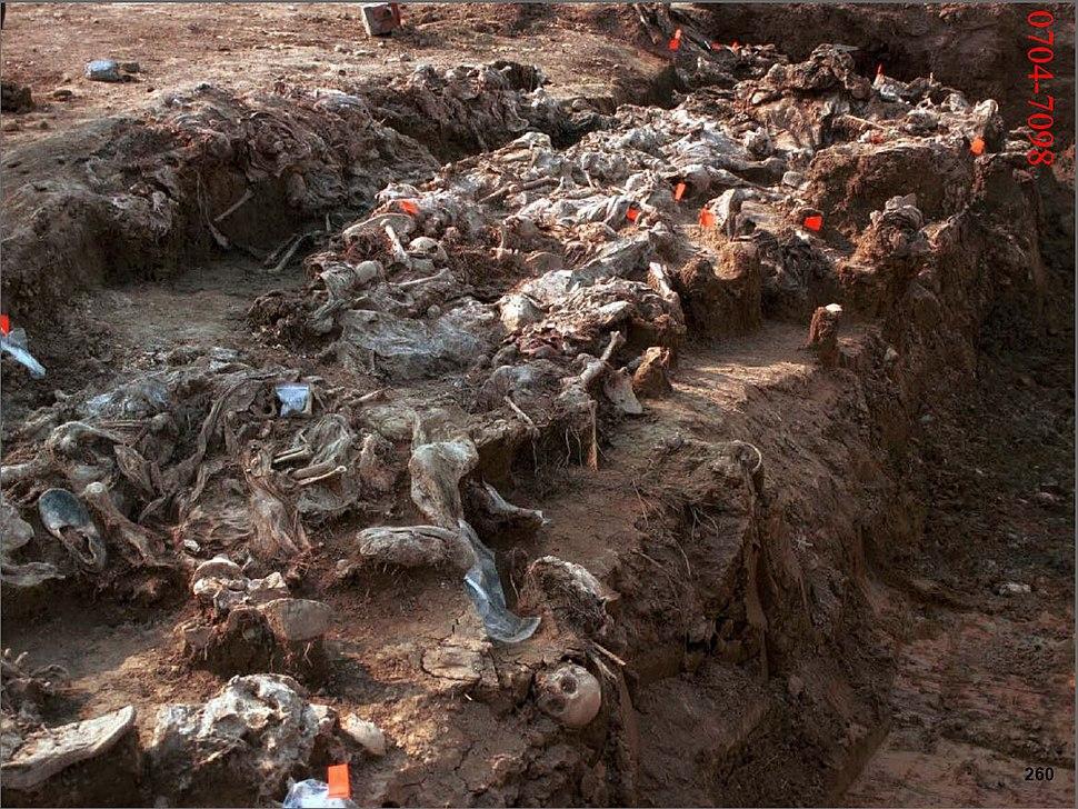 Exhumation Site in Čančari valley