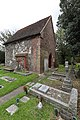 Exterior of Lumley Chapel in the churchyard of St Dunstan's Church, Cheam.jpg
